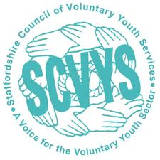 Staffordshire Council of Voluntary Youth Services (SCVYS) logo