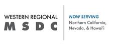 The Western Regional Minority Supplier Development Council (WRMSDC) logo