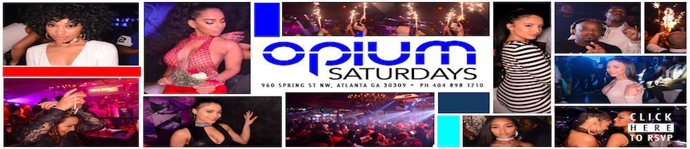 Saturdays at Opium