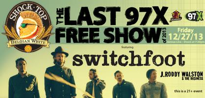 Shock Top and 97X present Switchfoot and J. Roddy...