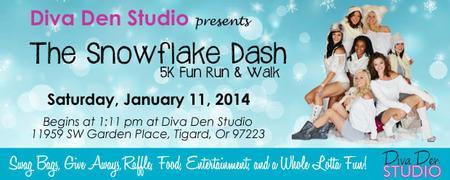 The Snowflake Dash 5K Fun Run/Walk
