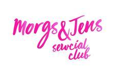 Morgs & Jen's Sewcial Club logo