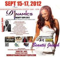 Dynamics Beauty Expo at the Miami Beach Convention Center