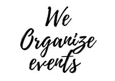 We Organise Events!  logo