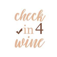 Check-in 4 Wine logo