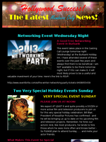 Actor/Producer Holiday Networking Event