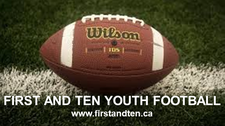 First and Ten Youth Football logo