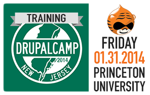 DrupalCamp NJ 2014 Training