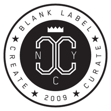 BLANK LABEL RECORDS  logo