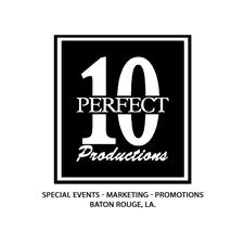 Perfect 10 Event Production and Promotion logo