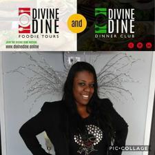 Kim Durden, CEO, Divine Dine Foodie Tours  logo
