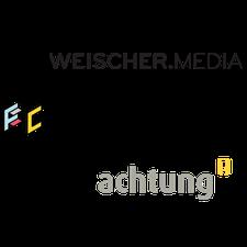 Weischer.Media --- FUTURE CANDY --- achtung! logo
