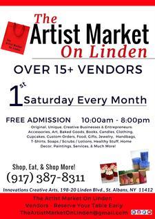 The Artist Market On Linden  logo