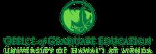 Graduate Division at The University of Hawai'i at Mānoa logo
