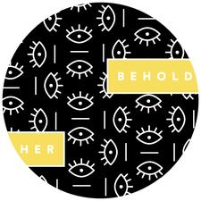 BEHOLD.HER  logo