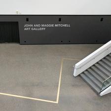 John and Maggie Mitchell Art Gallery logo