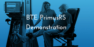 BTE PrimusRS Demonstration - London