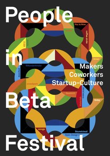 People in Beta Festival logo