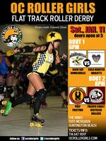 OC Roller Derby: Back Bay Bombshells & Pulp Friction Flat Track!