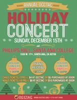 Annual OCCTAC Holiday Concert