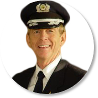Capt Ron's FearlessFlight®  logo