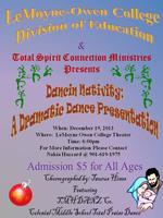 Dancin Nativity: Dramatic Dance Presentation