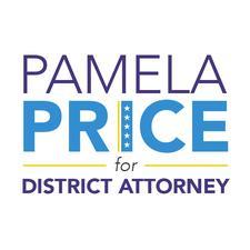 Pamela Price for Alameda County D.A. 2018. logo