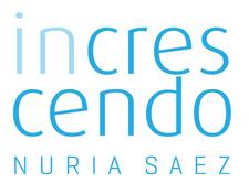 Increscendo Nuria Sáez Escuela logo