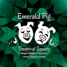 Emerald Pig Theatrical Society logo