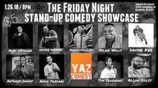 Yaz Comedy logo