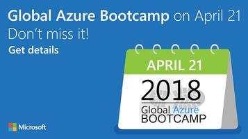 Global Azure Bootcamp 2018, London, UK