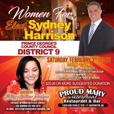 """Sydney Harrison """"For A Better Way"""" Campaign  logo"""