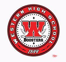 The Western High School Boosters Club logo