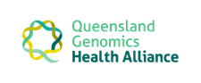 Queensland Genomics Health Alliance logo