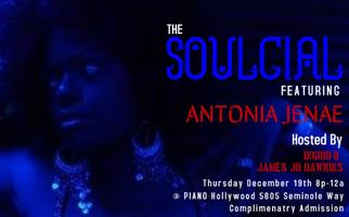 THE SOULCIAL - Live Music Experience featuring ANTONIA...