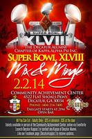 SUPER BOWL PARTY WITH THE  DECATUR NUPES