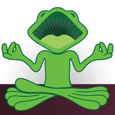 Laughing Frog Yoga logo