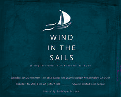 Wind in the Sails 2014: Getting the Results this Year...