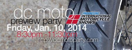 DC Moto Preview Party