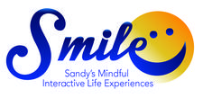 SMILE ~ Sandy's Mindful Interactive Life Experiences logo