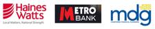 Haines Watts, Metro Bank & Myers Davison Ginger Ltd logo