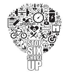 STOP SIX SHAPE UP logo