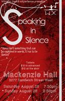 Speaking in Silence: Choreographer Workshop Showcase