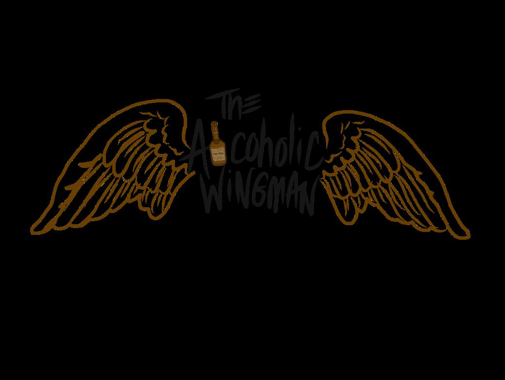 The Alcoholic Wingman logo