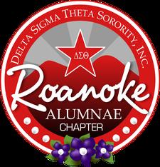 The Roanoke Alumnae Chapter of Delta Sigma Theta Sorority, Inc.  logo