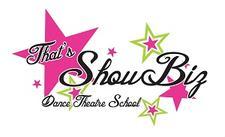 That's ShowBiz Dance Theatre School, LLC logo