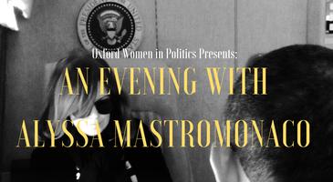 An Evening with Alyssa Mastromonaco