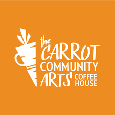The Carrot Community Arts Coffeehouse logo