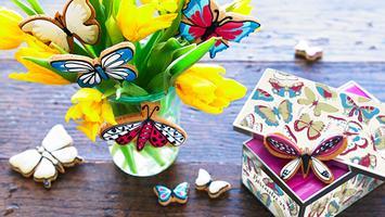 Biscuiteers School of Icing workshop - Butterflies -...