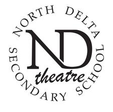 North Delta Secondary School Theatre logo